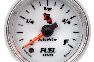 "Auto Meter® - C2™ 2-1/16"" Electric Programmable Fuel Level Gauge"