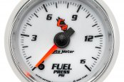 "Auto Meter® - C2™ 2-1/16"" Electric Fuel Pressure Gauge, 0 - 15 psi"