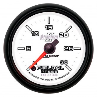 Auto Meter® - Phantom II™ Fuel Rail Pressure In-Dash Gauge