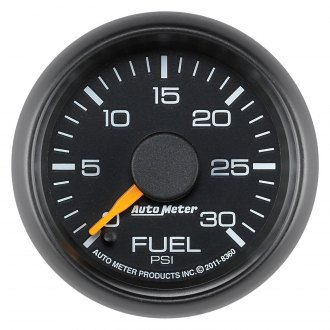 Auto Meter® - Chevy Factory Match 2-1/16 Electric Fuel Pressure Gauge, 0 - 30 psi