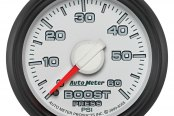 "Auto Meter® - Factory Match 2-1/16"" Mechanical Boost Gauge, 0 - 60 psi"