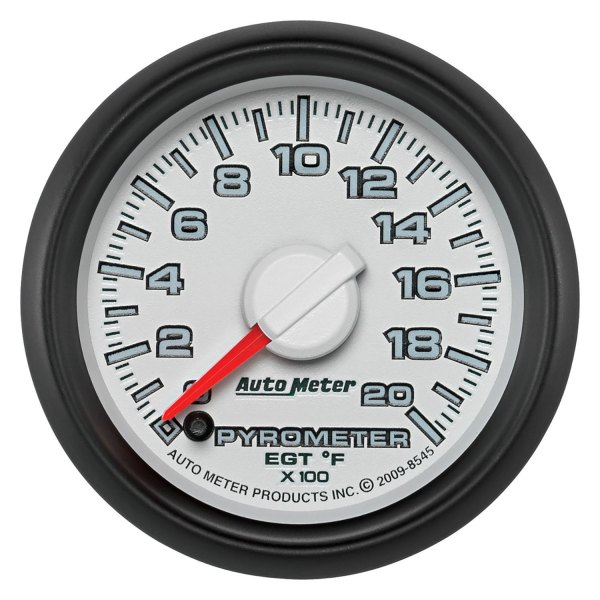 "Auto Meter® - Factory Match 2-1/16"" Electric EGT / Pyrometer Gauge, 0 - 2000 F"