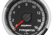 "Auto Meter® - Dodge 4th Generation 2-1/16"" Electric EGT / Pyrometer Gauge, 0 - 1600 F"