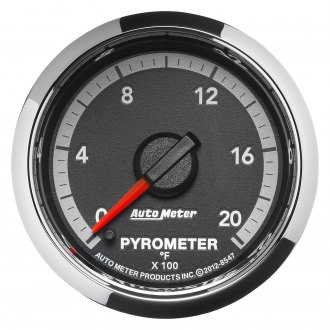 Auto Meter® - Dodge Factory Match™ 4rd Generation EGT Pyrometer In-Dash Gauge