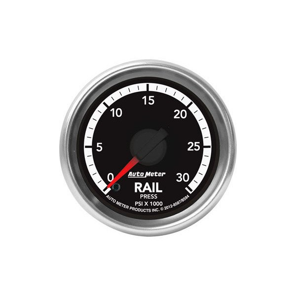 "Auto Meter® - 2-1/16"" Electric Fuel Rail Pressure Gauge, 0 - 30000 psi"