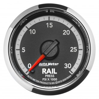 Auto Meter® - Dodge Factory Match™ 4rd Generation Fuel Rail Pressure In-Dash Gauge