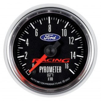 Auto Meter® - Ford Racing™ Pyrometer In-Dash Gauge