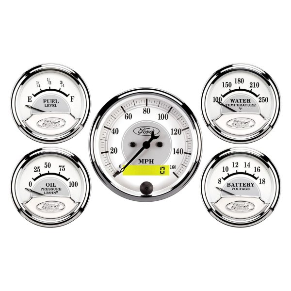 Auto Meter® - Ford Racing™ In-Dash Gauges
