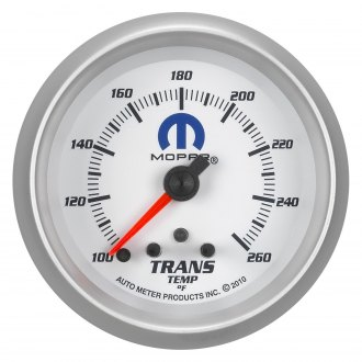 Auto Meter® - Mopar™ Transmission Temperature In-Dash Gauge