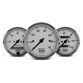 Auto Meter® - American Platinum™ In-Dash Gauges
