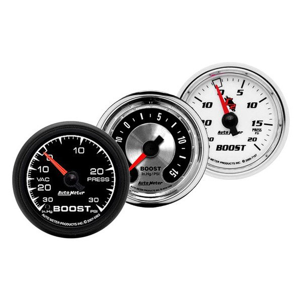 Auto Meter® - Boost / Vacuum Gauges