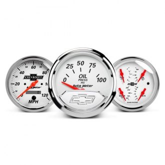 Auto Meter® - Chevy Vintage™ In-Dash Gauges