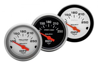 Auto Meter® - Electric Differential Temperature Gauge