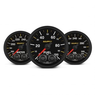 Auto Meter® - Elite Nascar™ In-Dash Gauges