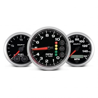 Auto Meter® - Elite Series™ In-Dash Gauges