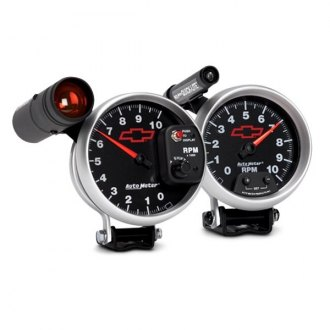 Auto Meter® - GM Black™ Pedestal Gauges