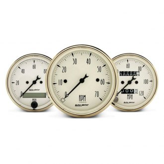 Auto Meter® - Golden Oldies™ In-Dash Gauges