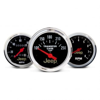 Auto Meter® - Jeep™ In-Dash Gauges