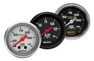 "Auto Meter� - 2-1/16"" Mechanical Air Pressure Gauge"