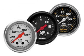 "Auto Meter® - 2-1/16"" Mechanical Air Pressure Gauge"