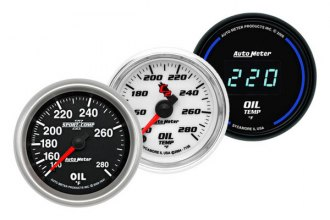Auto Meter® - Oil Temperature Gauge