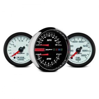 Auto Meter® - Pro-Cycle™ In-Dash Gauges