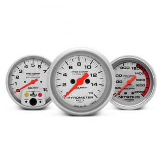 Auto Meter® - Ultra-Lite™ In-Dash Gauges