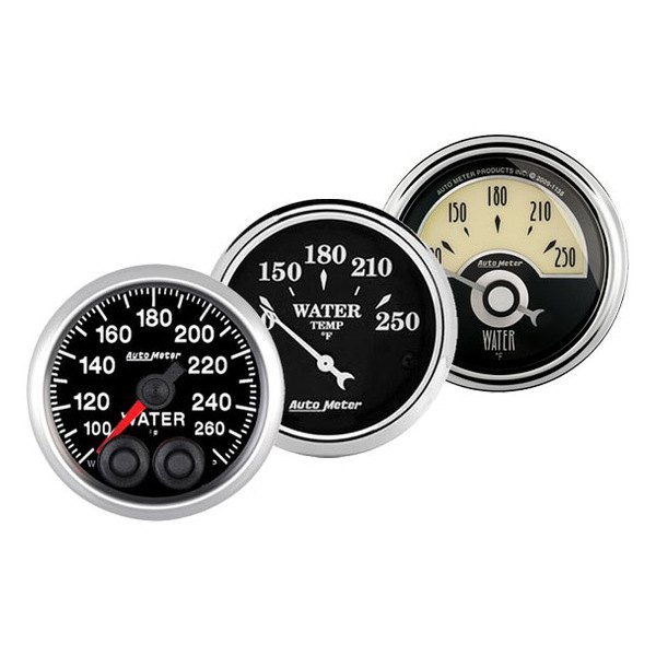 Auto Meter® - Water Temperature Gauges