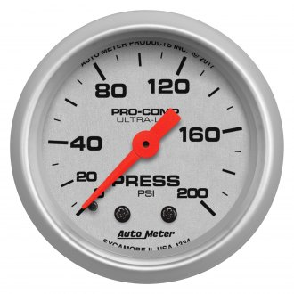 Auto Meter® - Ultra-Lite Series Gauges