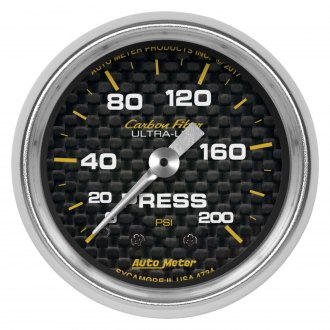 Auto Meter® - Carbon Fiber Series Gauges