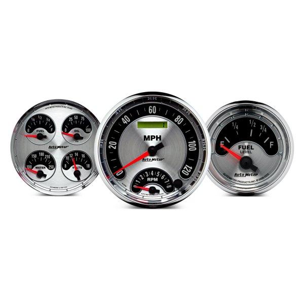Auto Meter 1289 American Muscle 5 0-160 mph Speedometer Gauge