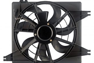 Auto 7® - Passenger Side Radiator Fan Assembly