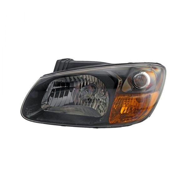 Car Headlights Replacement : Auto kia spectra  replacement headlight