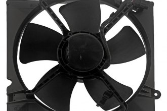 Auto 7® - Driver Side Radiator Fan Assembly