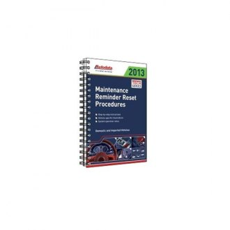 Autodata® - 2013 Maintenance Reminder Reset Procedures Manual