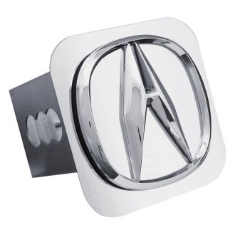 Autogold® - Chrome Hitch Cover with Acura Logo