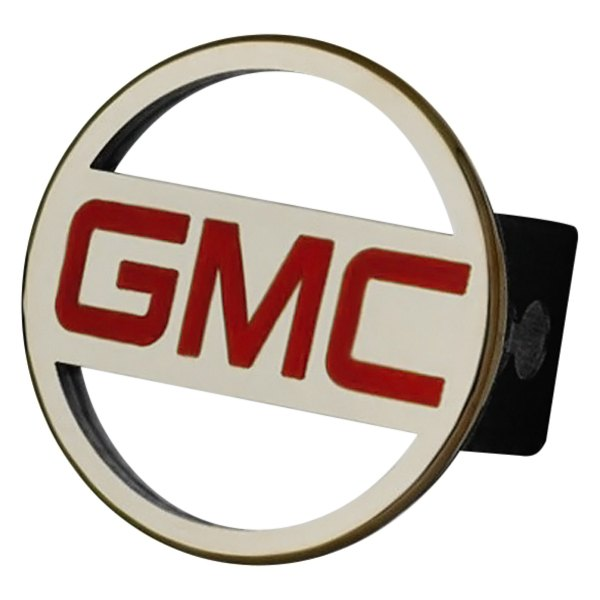 Autogold® - Gold Hitch Cover with GMC Name Logo