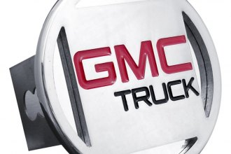 Autogold® - Chrome Hitch Cover with GMC Logo