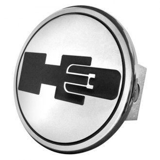 Autogold® - Chrome Hitch Cover with H3 Logo