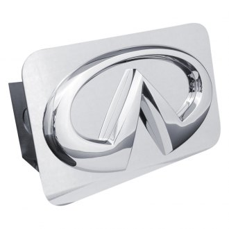 Autogold® - Chrome Hitch Cover with Infiniti Logo