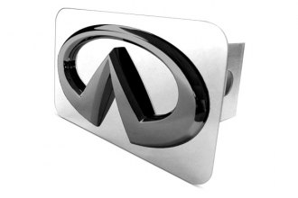 Autogold® - Black Pearl Hitch Cover with Infiniti Logo