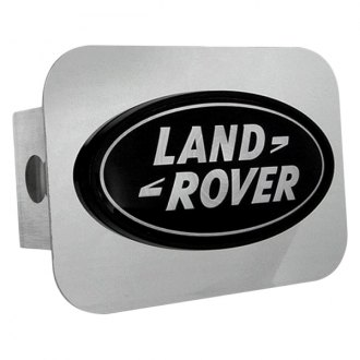 "Autogold® - Hitch Cover with Land Rover Logo for 2"" Receivers"