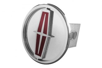 Autogold® - Chrome Hitch Cover with Lincoln Logo