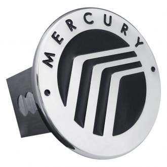 Autogold® - Chrome Hitch Cover with Mercury Logo