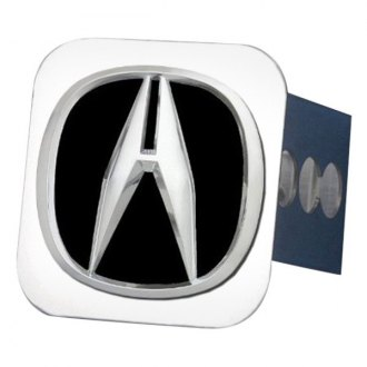 Autogold® - Chrome Hitch Cover with Acura Class II Logo