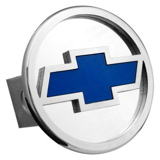 "Autogold® - Hitch Cover with Chevrolet Logo for 1-1/4"" Receivers"