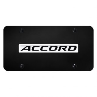 Autogold® - License Plate with Accord Logo