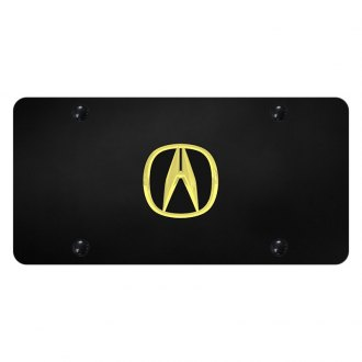 Autogold® - License Plate with 3D Acura Emblem
