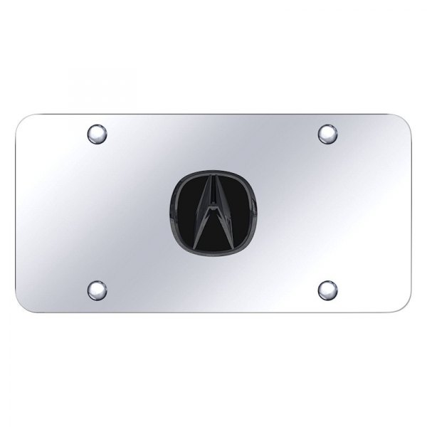 Autogold® - License Plate with Acura Emblem