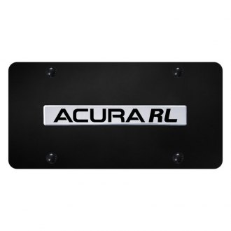Autogold® - License Plate with Chrome Acura RL Logo